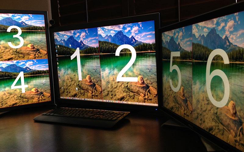 Virtual Display Manager iShadow - multi screen display
