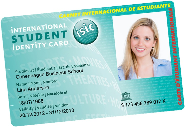 Nice Isic Card Template Pictures \u003e\u003e Music Festival Flyer Template V5 - student identification card