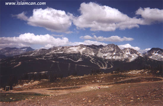 Islamic Quotes Wallpapers Iphone Allah S Name Found On Whistler Mountains In British