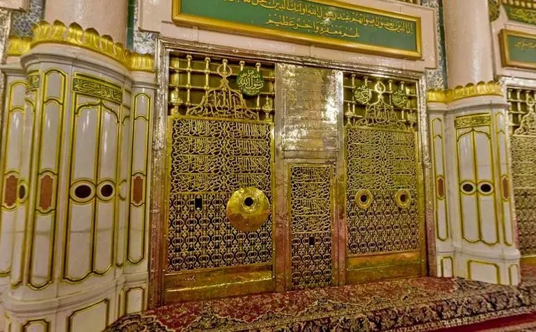 Rawdah Mubarak Sacred Chamber Islamic Landmarks