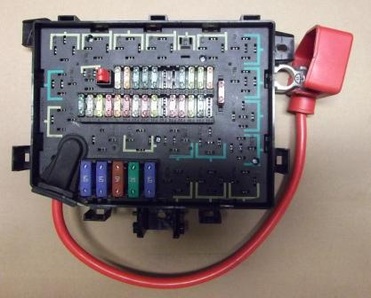 Range Rover P38 Fuse Layout Wiring Diagram