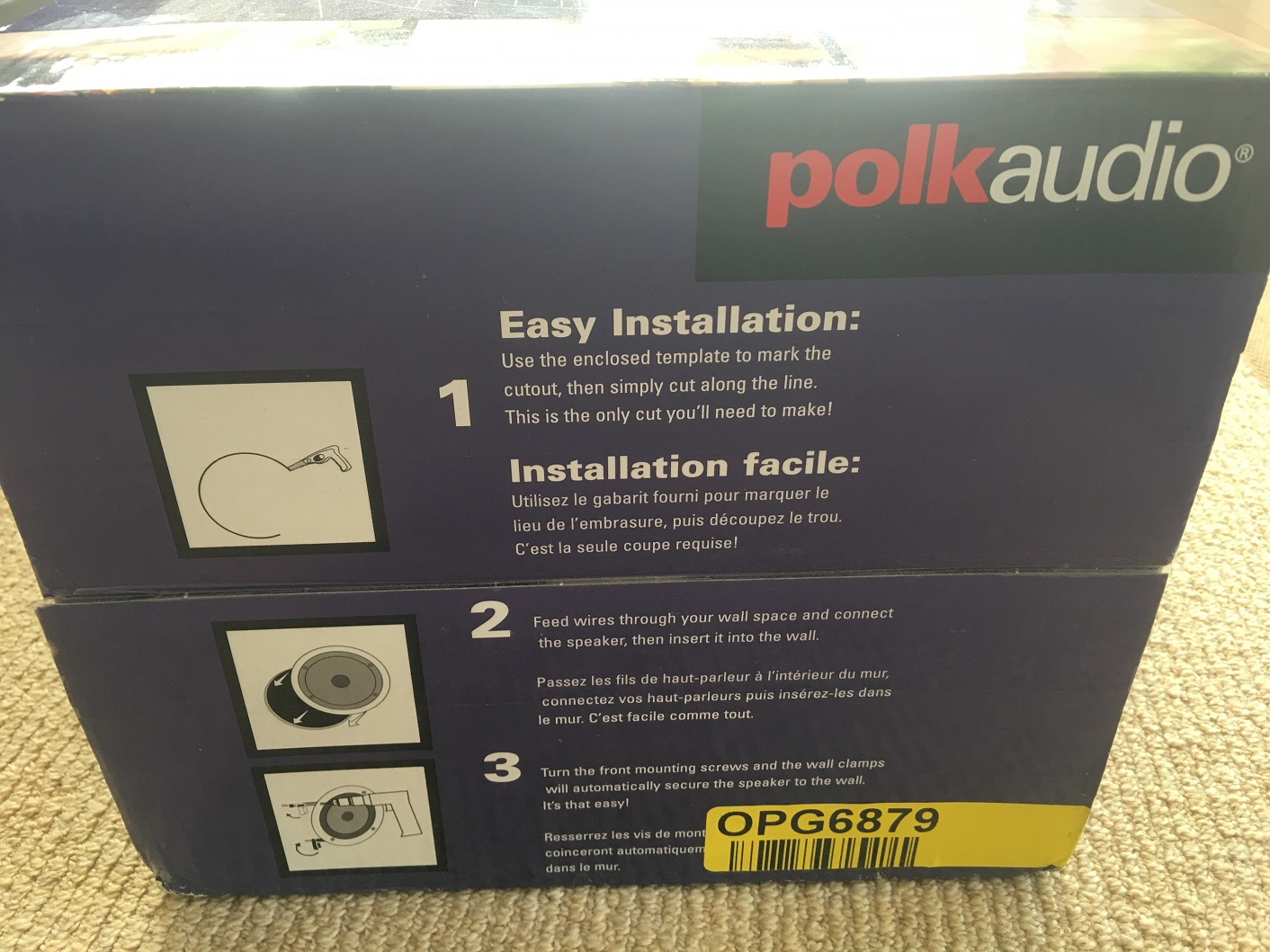 Polk Audio RC80i 2 way In