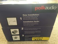 Polk Audio RC80i 2 way In-Ceiling Speakers ( A pair ...