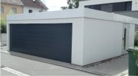 Isolierte Fertiggaragen - ISO-Garagen - Doppelgarage ...