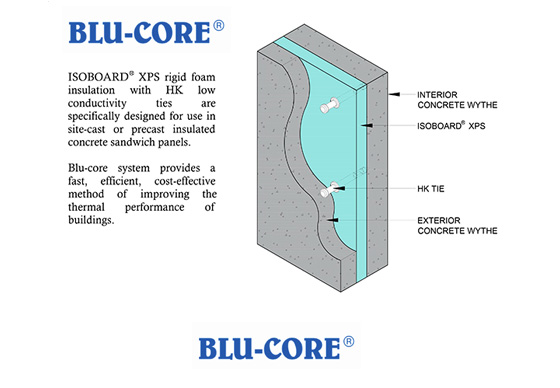 Isofoam - Concrete Wall Insulation