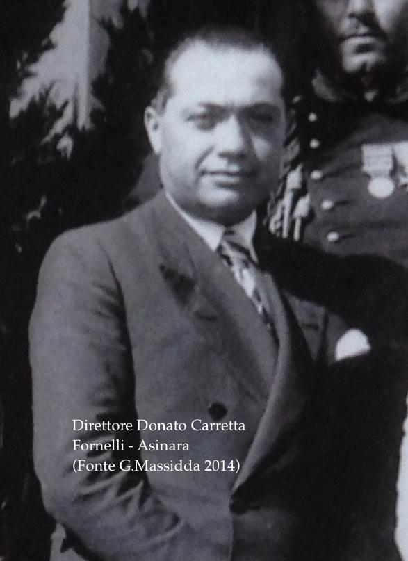 Il Direttore Donato Carretta (archivio di G. Massidda)