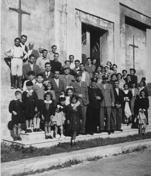 Asinara anno 1952 è il 25 aprile Ossario di Campo Perdu.