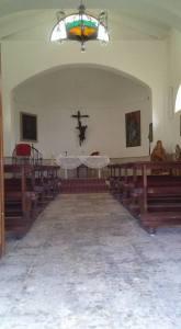 L'interno della chiesa. Foto Antonio Canu 20.04.2018