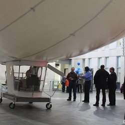 airship demonstration