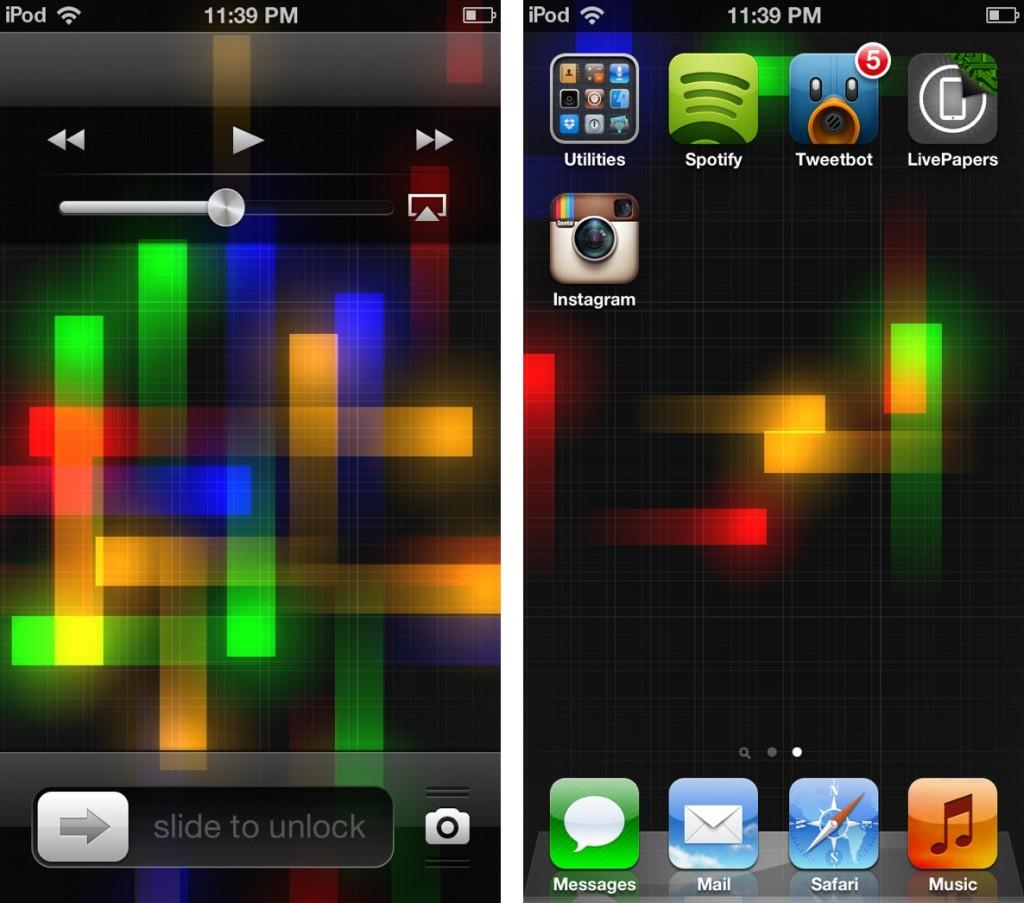 Live Moving Wallpaper For Iphone Livepapers Il Nuovo Tweak Che D 224 Vita Allo Sfondo Dell