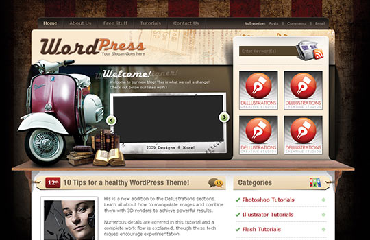 100+ Free Webpage Templates PSD