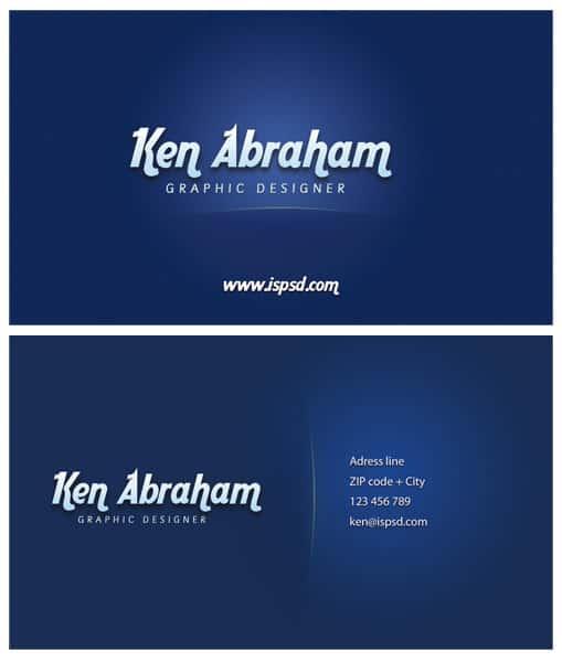 dark_blue_visiting_card