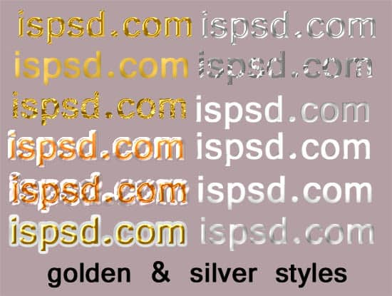 styles_golden_silver