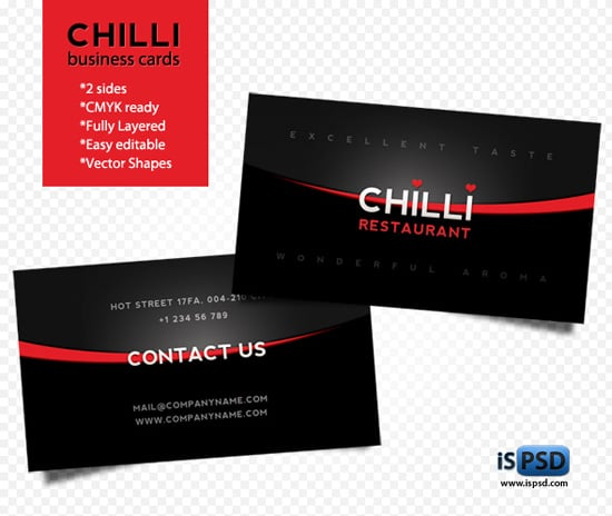 Chilli-business-cards
