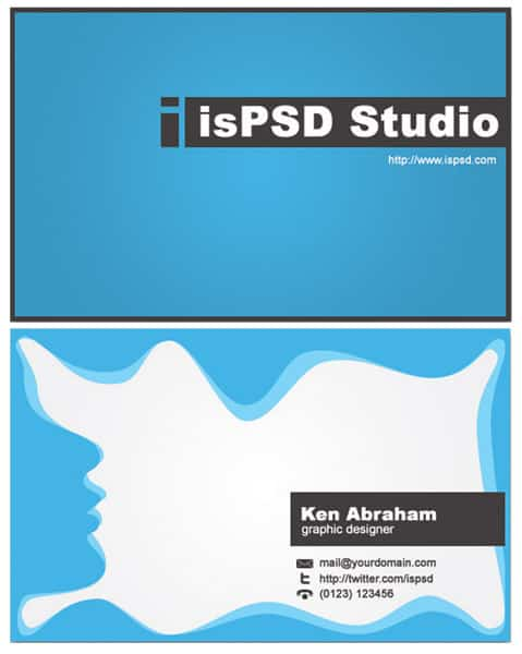 abstrack_blue_business_card