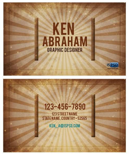 vintage-business-card
