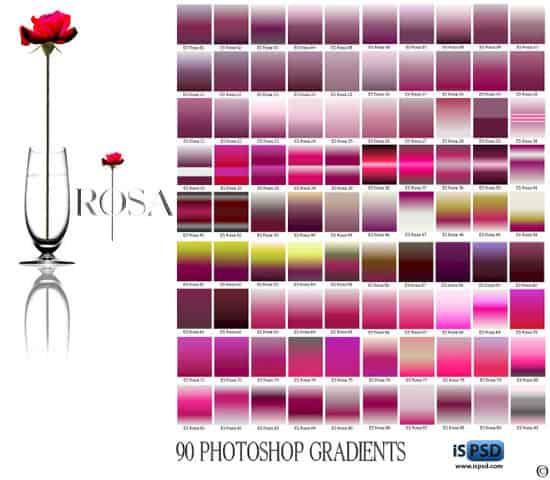 Rose Gradients GRD