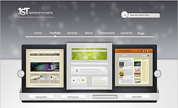 Web Design Professional Layout