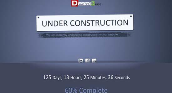 Creative Under Construction Template