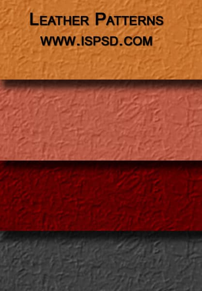 Elegant Leather Patterns PAT