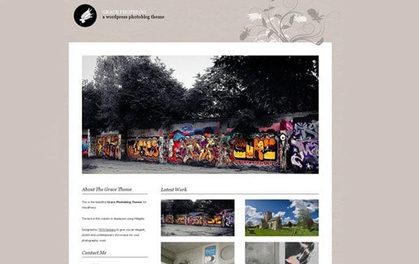 Grace Photoblog template