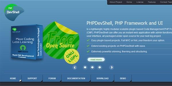 devshell PHP