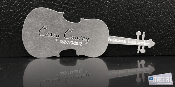 metal business cards