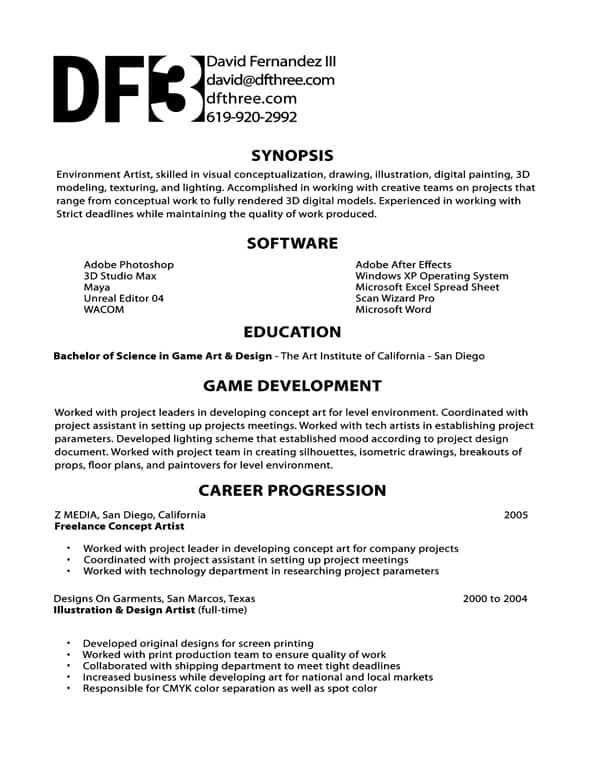 Games programmer cover letter