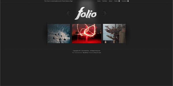 folio wordpress premium theme