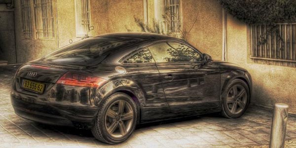 hdr cars