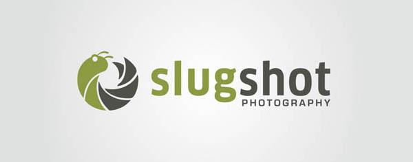 slugshot logo design
