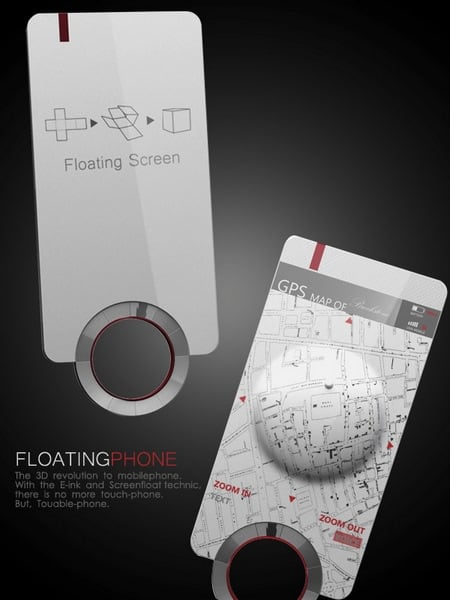 floating phone concepts