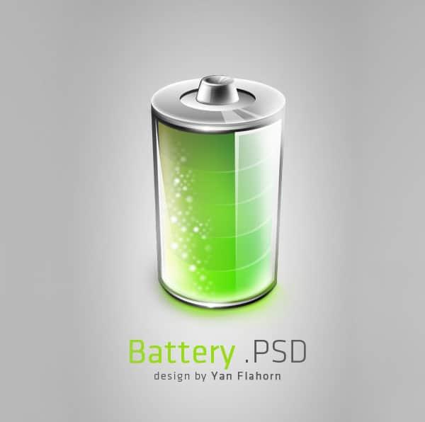 Battery PSD Flahorn