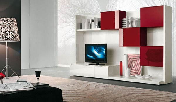 30 living room designs for your sweet home for Cool tv wall mounts