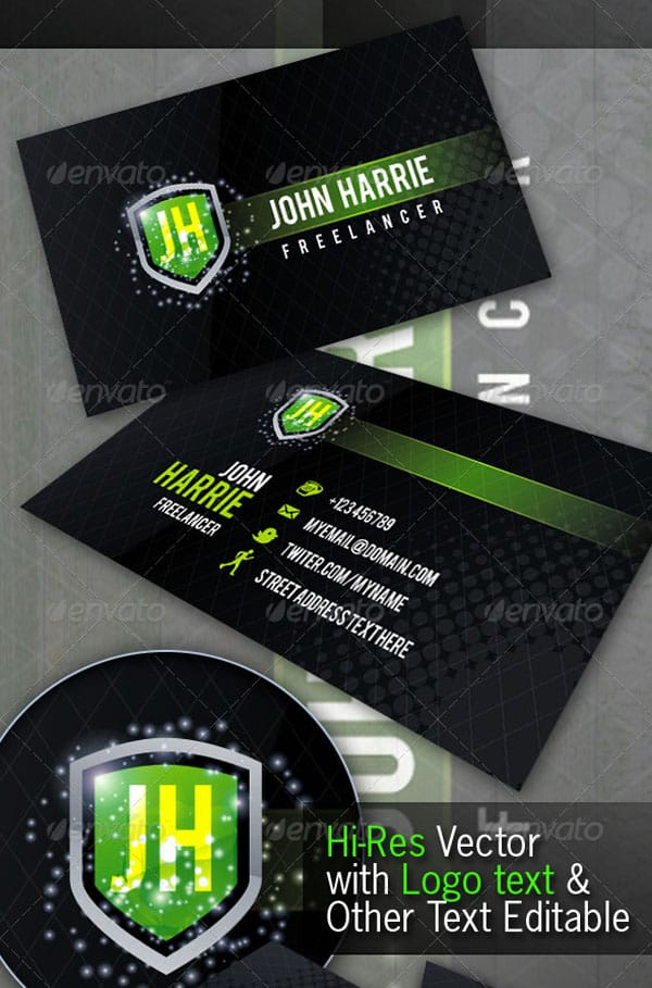 Freelancer Creative Business Card