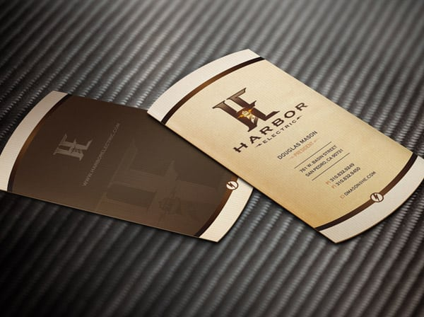 Harbor Electric Business Cards