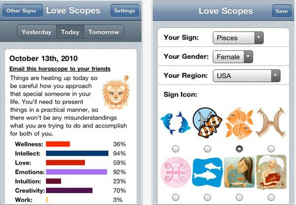 i phone valentine apps