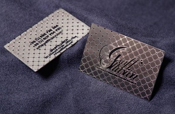 Metal Card Graff'Illusion