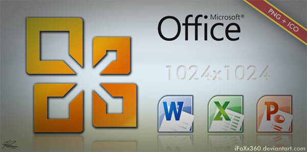 Microsoft Office Icon Pack HQ