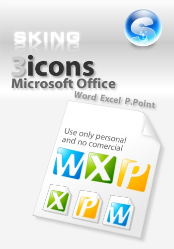 Simple icons for office