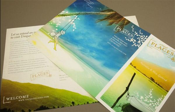 30 Beautiful Travel Brochure Designs - tourist brochure template