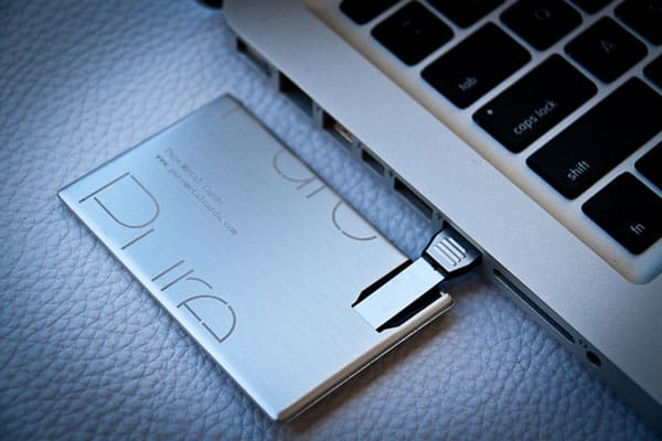 USB Metal Business Card