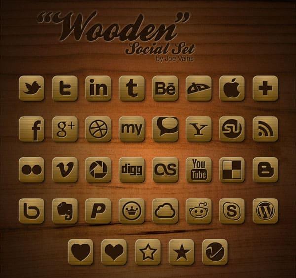 Wooden Social Set