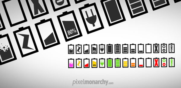 minimalist-battery-icons