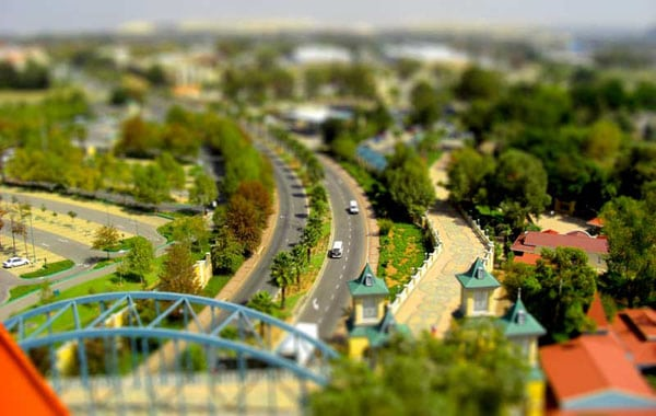 tilt-shift-city tutorial
