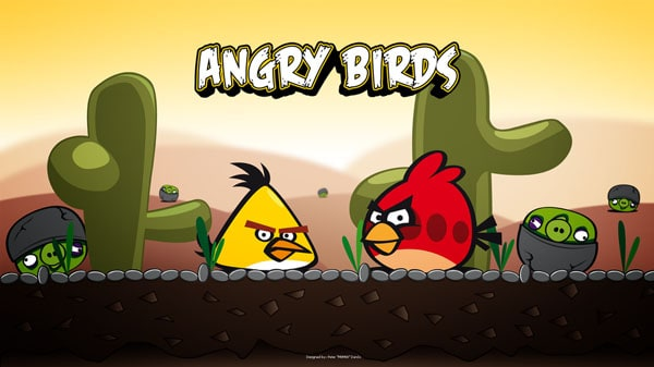 Angry Birds Wallpaper m0m0