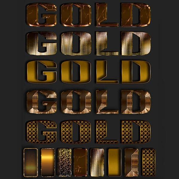 Gold styles by DiZa-74