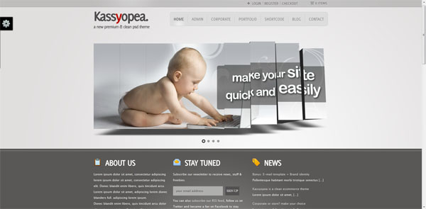 Kassyopea WordPress Theme