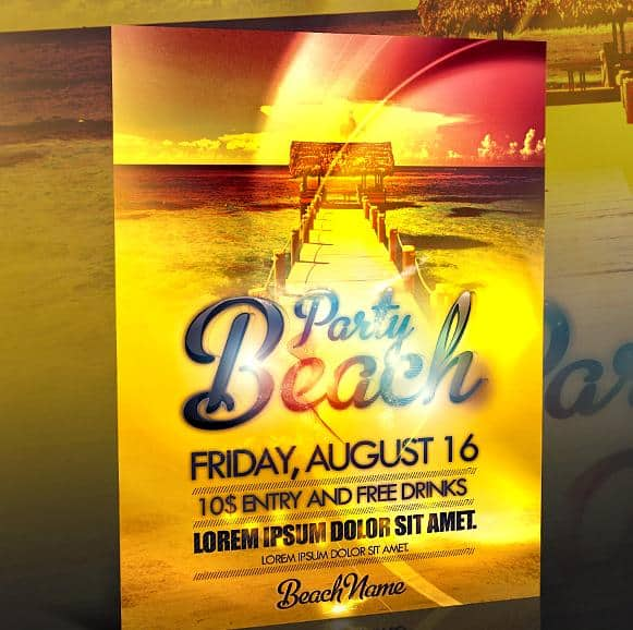 party-flyer-templates