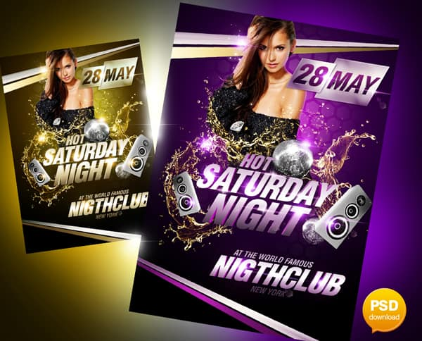 20+ Free Party Flyer Templates Collections